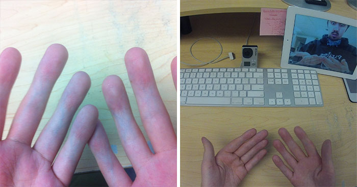 People Can't Understand How This Guy Took A Photo Of Both Of His Hands, He Explains It With Even More 'Unexplainable' Pictures