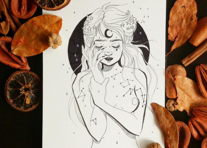 I Create Magical And Whimsical Ink Illustrations (30 Pics)
