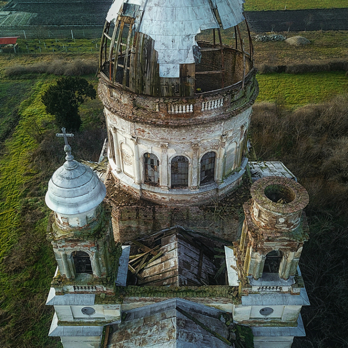Exploring An Abandoned Mausoleum In Romania
