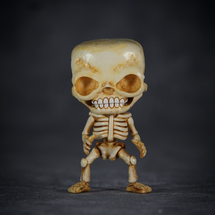 The World's First Freestanding Full Body Skeleton In Funko Pop Dimensions
