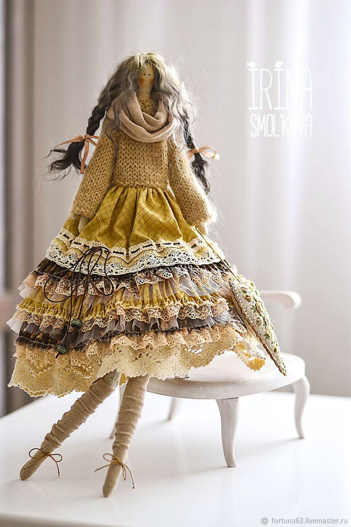 «my Dolls Have Got Two Souls» — Tildas By Irina Smol'kova