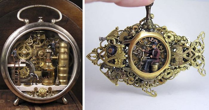 28 Vintage Watches That Hold Entire Worlds In Their Inner Workings
