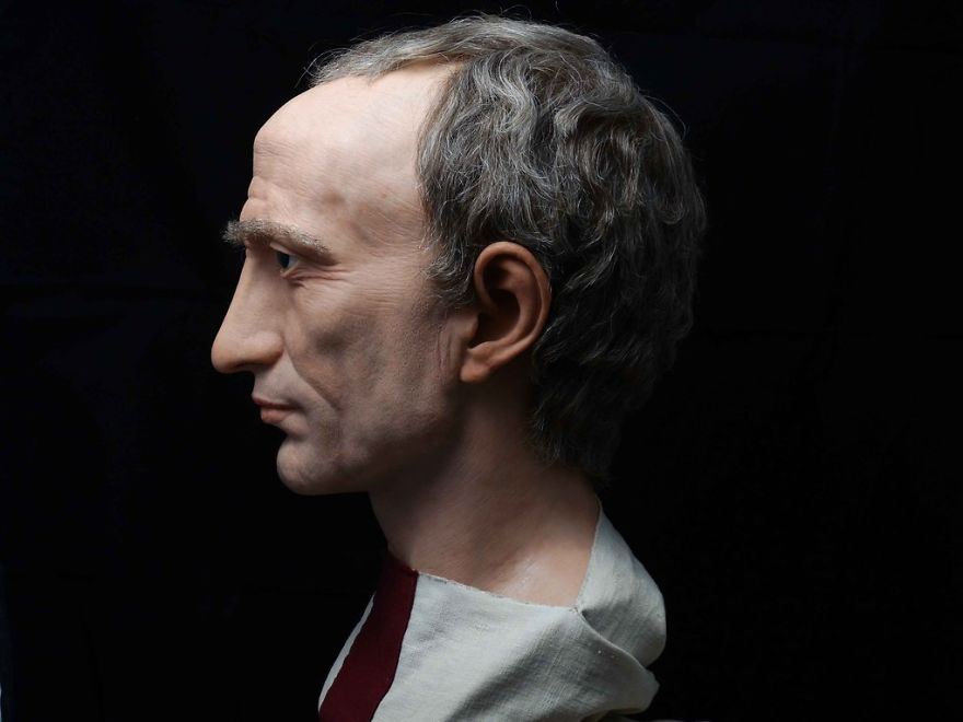 Spanish Artist Recreates Famous Roman Emperors Through His
