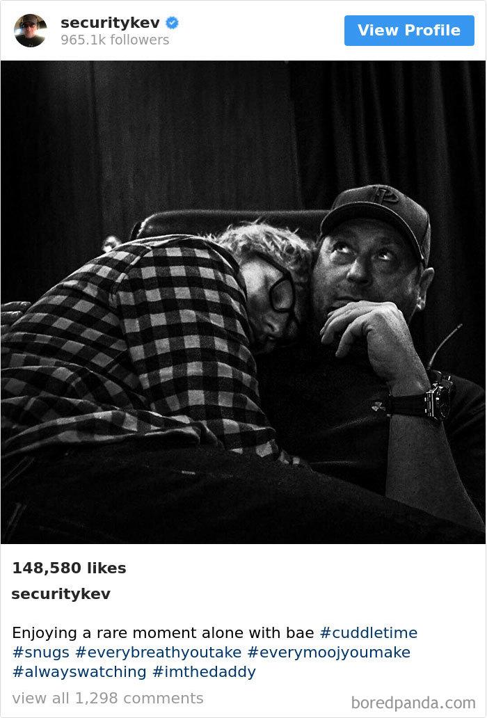 Enjoying A Rare Moment Alone With Bae #cuddletime #snugs #everybreathyoutake #everymoojyoumake #alwayswatching #imthedaddy