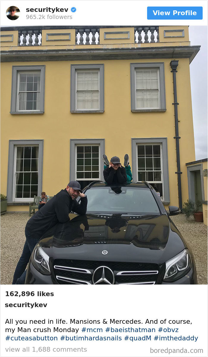All You Need In Life. Mansions & Mercedes. And Of Course, My Man Crush Monday #mcm #baeisthatman #obvz #cuteasabutton #butimhardasnails #quadm #imthedaddy