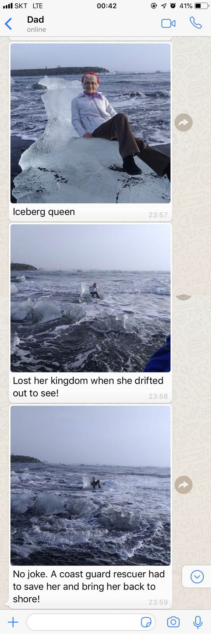 My Grandmother Almost Got Lost At Sea In Iceland