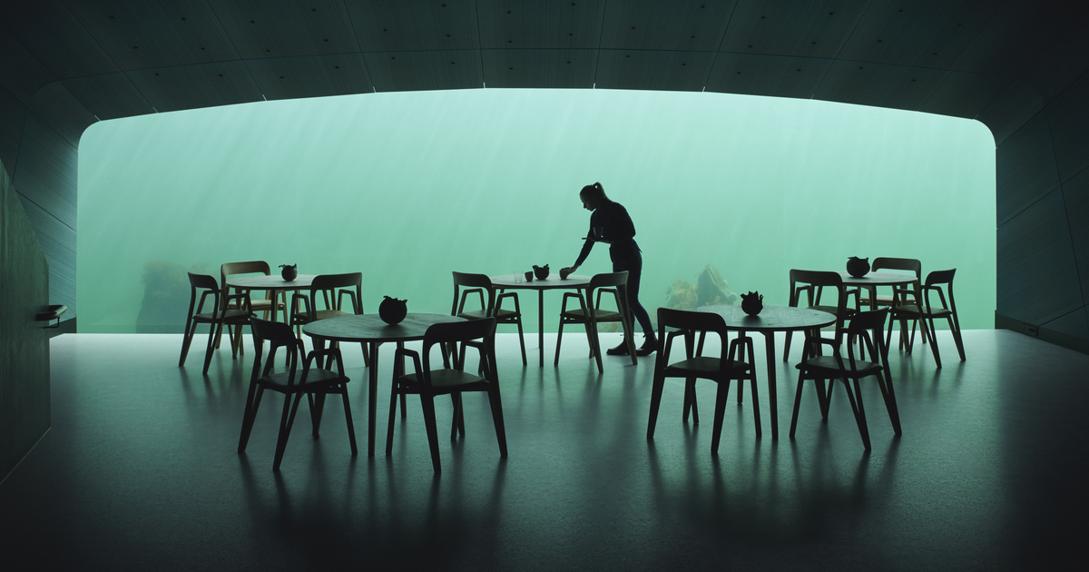 Under: Europe's First Underwater Restaurant Opens Its Doors, And It's Like Dining In Atlantis