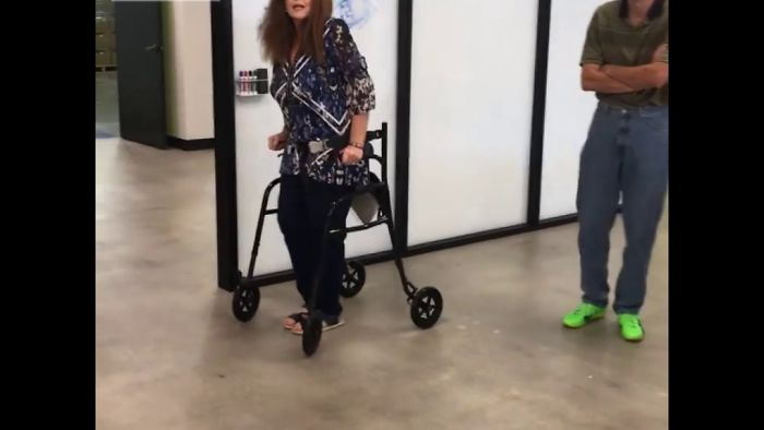 Mind-Bending Mobility Innovation Leaves Grandma's Walker In The Dust