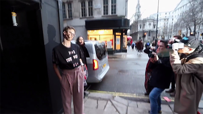 Guy Deliberately Dresses As Idiotically As Possible For London Fashion Week, Gets Greeted As A Celebrity Model