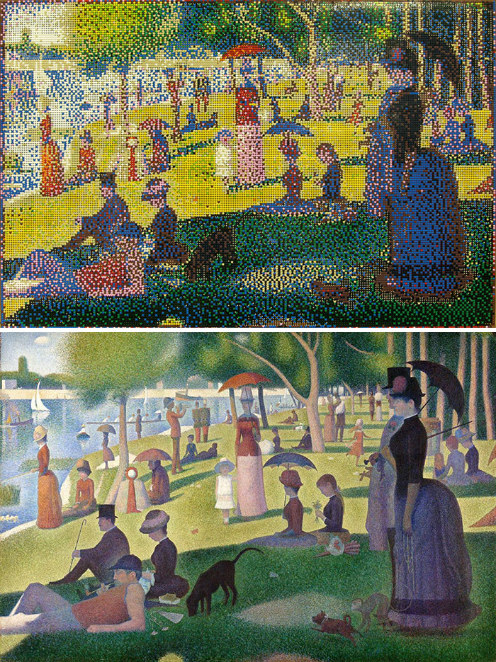 Georges Seurat's Sunday Afternoon On The Island Of La Grande Jatte