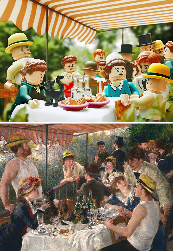 Pierre-Auguste Renoir's The Luncheon Of The Boating Party