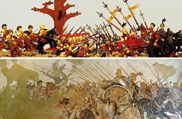Unknown Artist's Alexander Mosaic (Battle Of Issus)