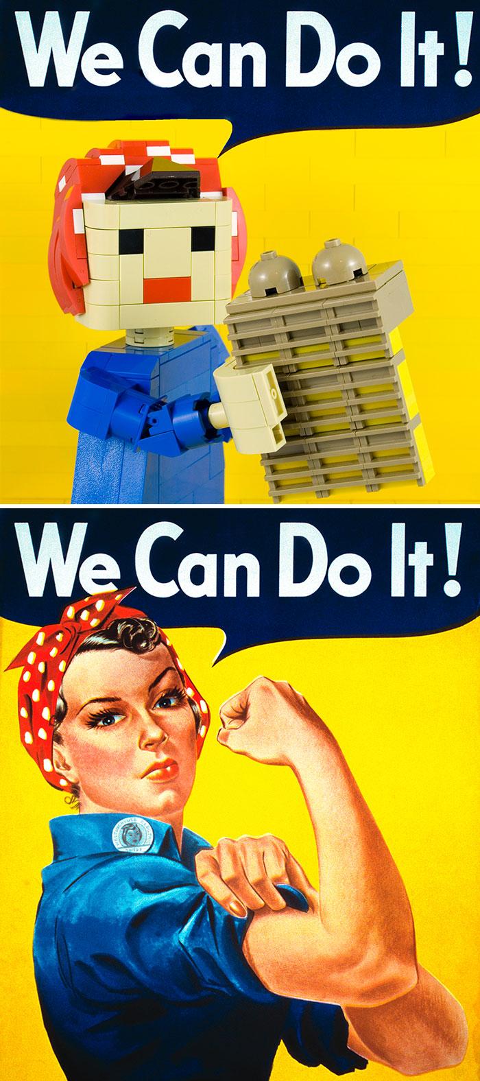 J. Howard Miller's We Can Do It