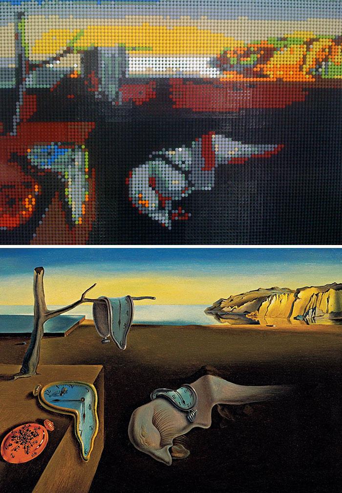 Salvador Dali's The Persistence Of Memory