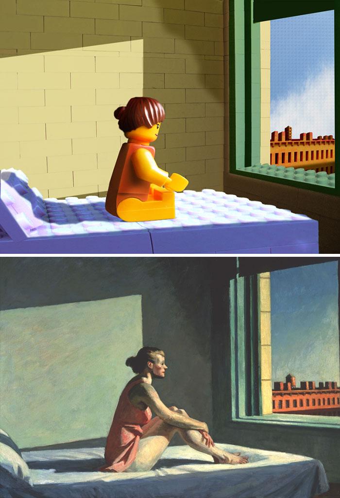 Edward Hopper's Morning Sun