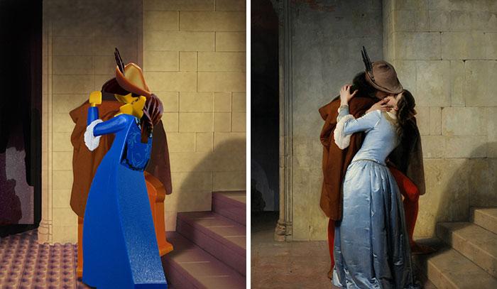 Francesco Hayez's The Kiss