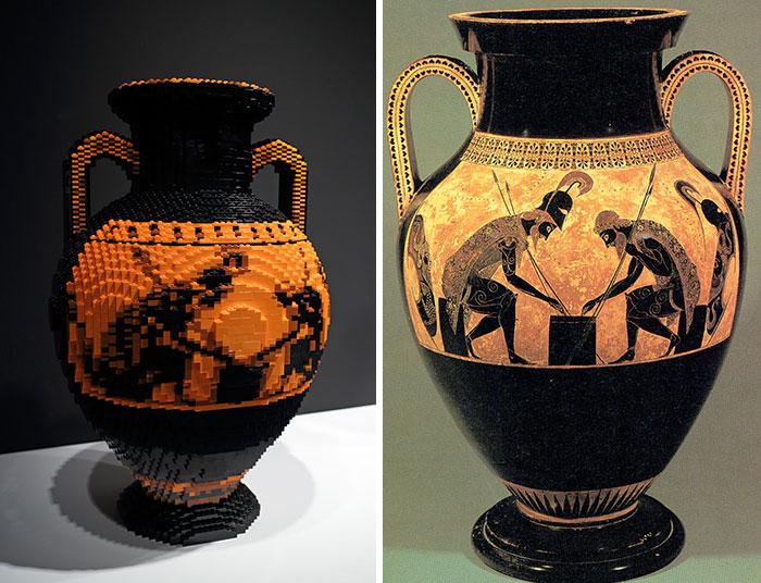 Exekias' The Vatican Amphora