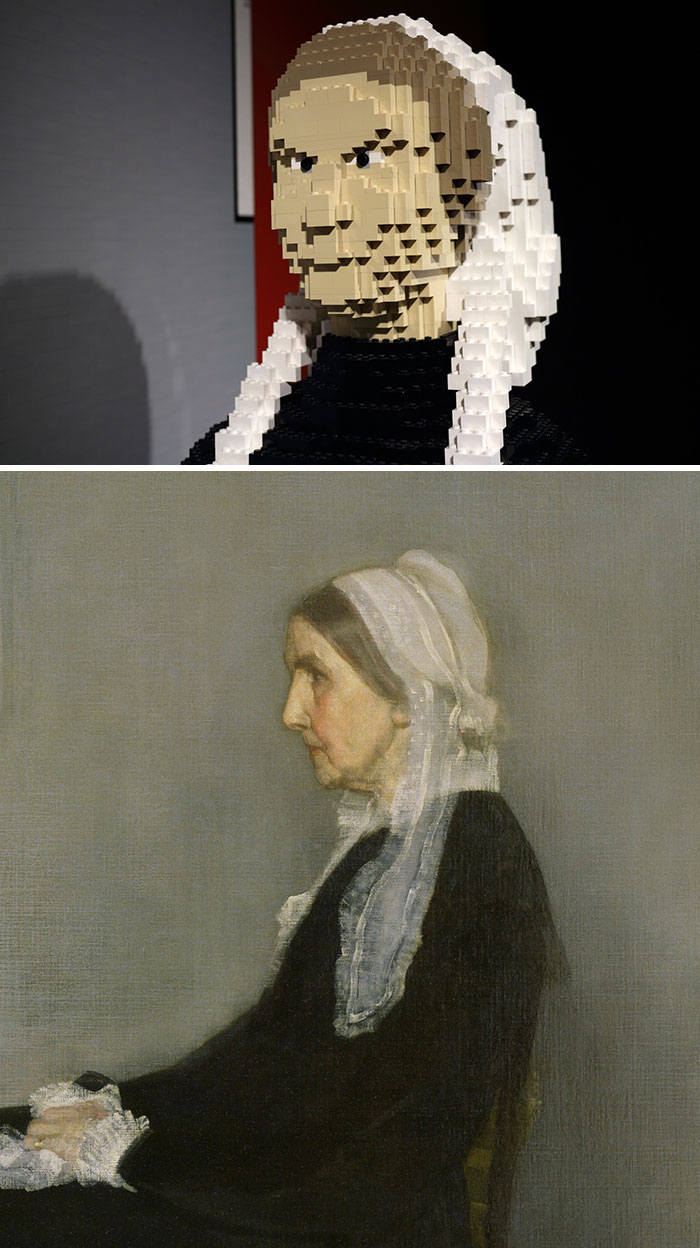 James Mcneill Whistler's Arrangement In Grey And Black No.1, Known As Whistler's Mother