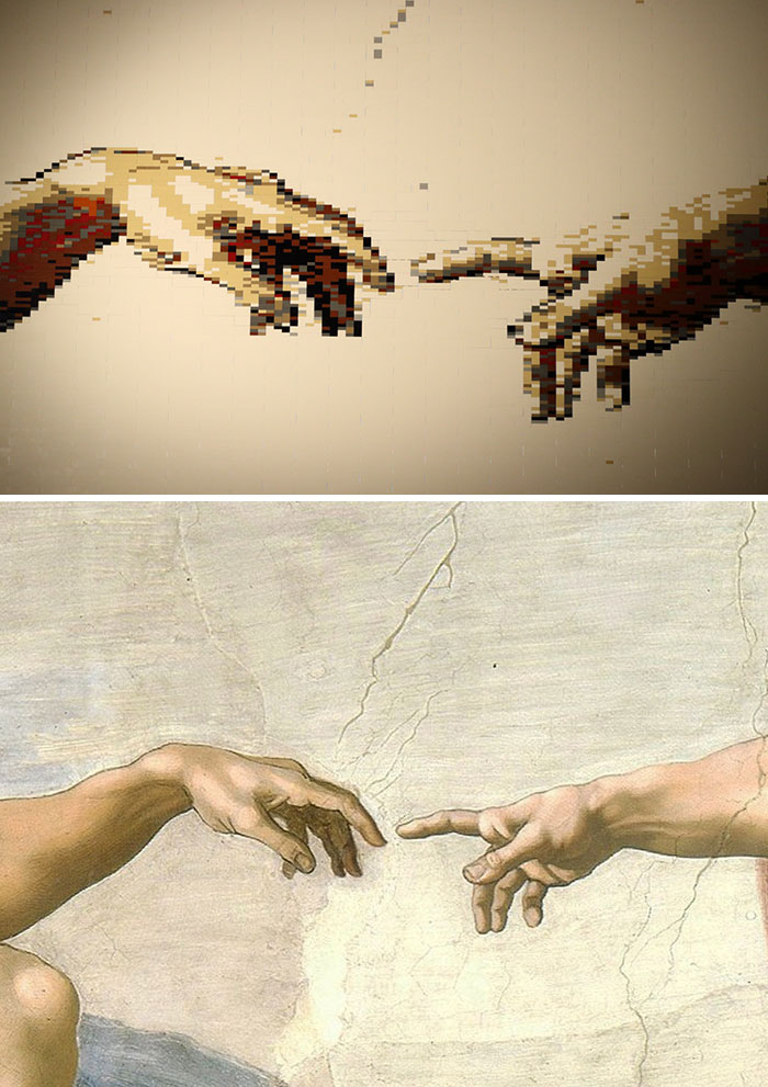 Michelangelo's The Creation Of Adam