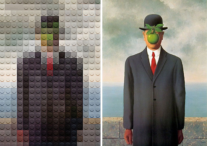 René Magritte's The Son Of Man
