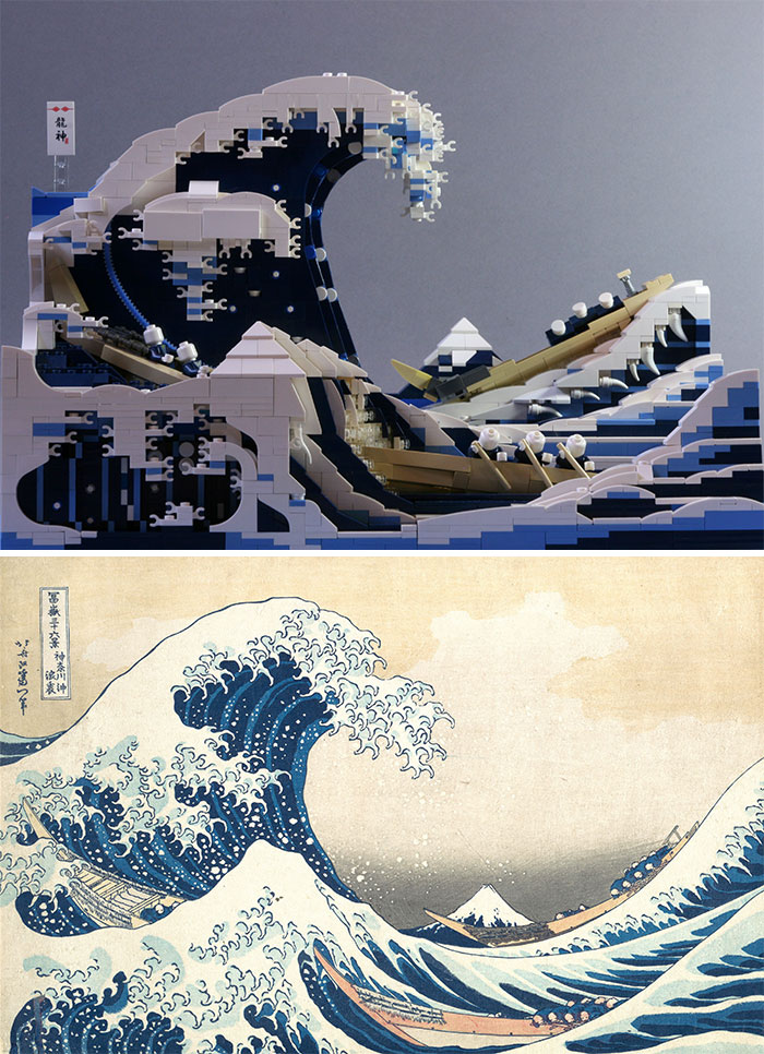 Hokusai's Great Wave Off Kanagawa