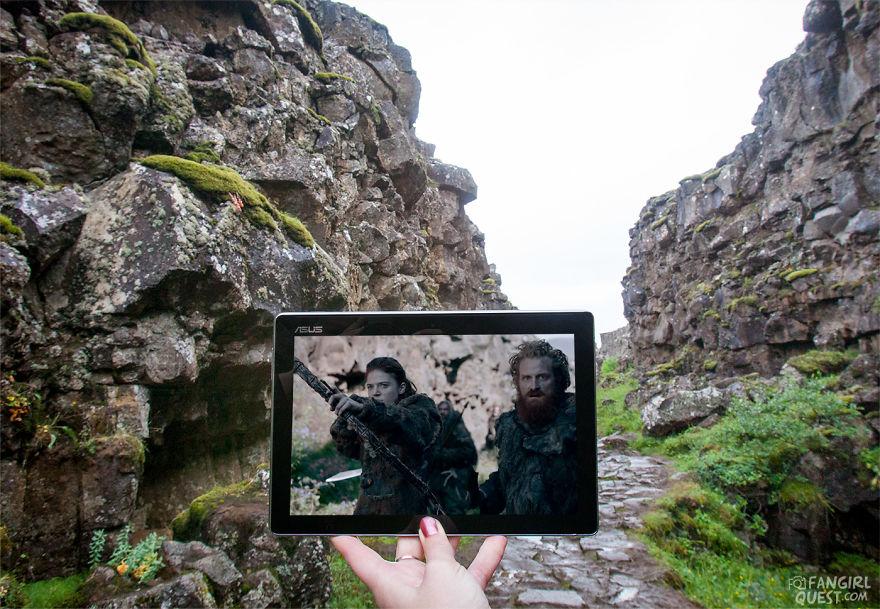 Ygritte And Tormund As Seen At Thingvellir National Park, Iceland