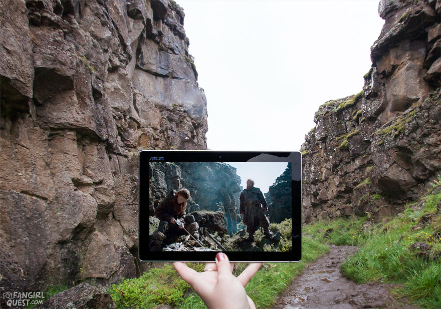 The Wildling Camping Site Filming Location In Iceland: Thingvellir National Park.