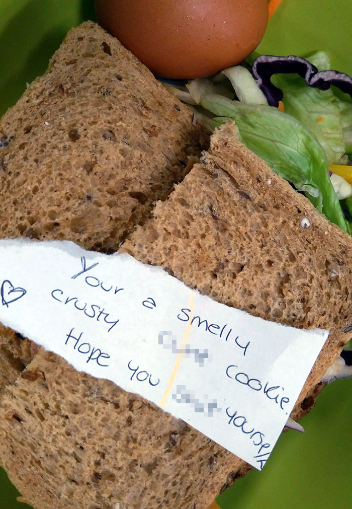 I Asked My Wife To Put Abusive Notes In My Lunchbox Instead Of The Usual Soppy Love Notes. This Is Day 2