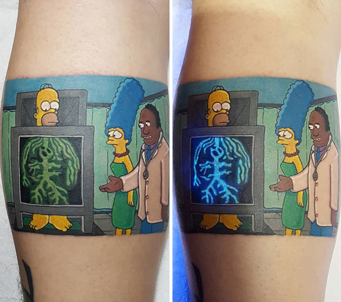 I'm Using UV Pigment For Those Who Are Motivated For Some Entertaining Tattoos