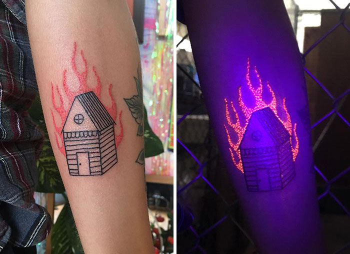 Burning Down The House With The UV Ink