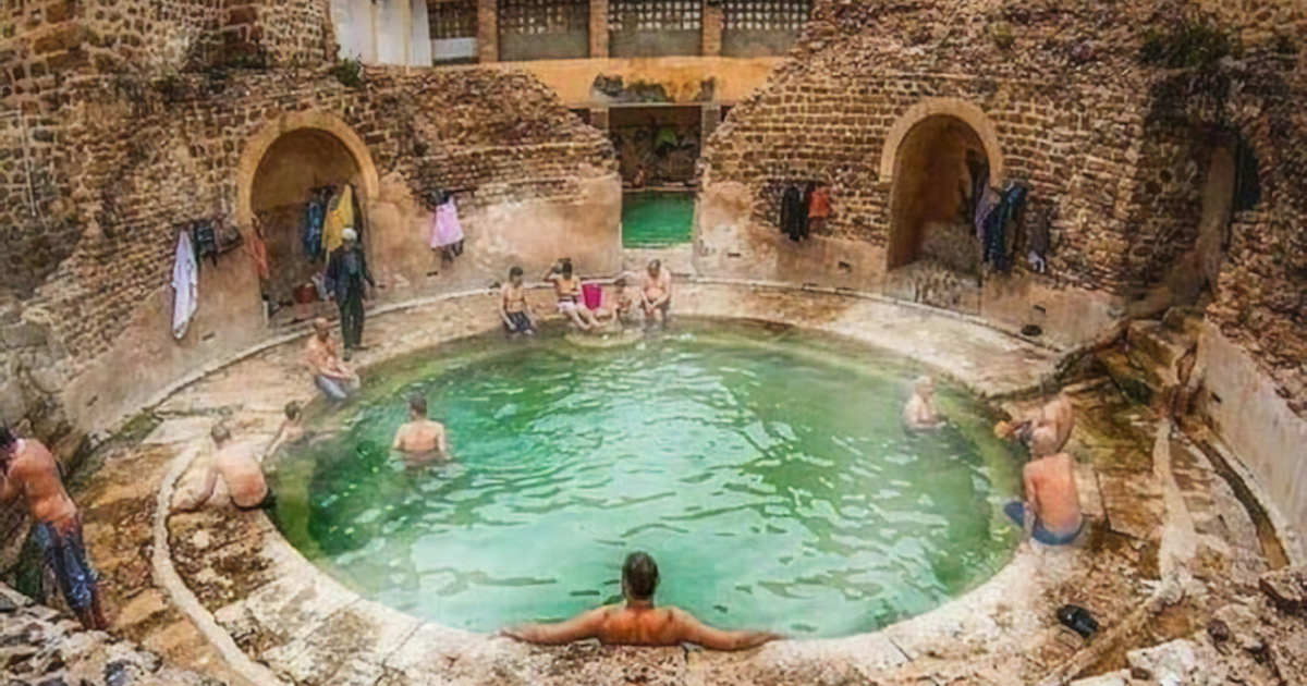 Even After 2,000 Years, This Roman Bathhouse In Algeria Is Still In Use