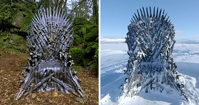 Game Of Thrones Hid 6 Thrones Around The World For An Epic Scavenger Hunt And 2 Are Left To Find