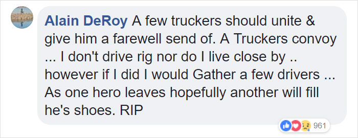 Hero Truck Driver Takes Burning Truck To A Remote Area Before It Explodes, Killing Him