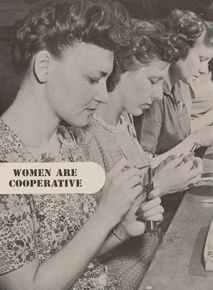 This Guide From The 1940s Told Male Bosses How To Deal With Women Employees
