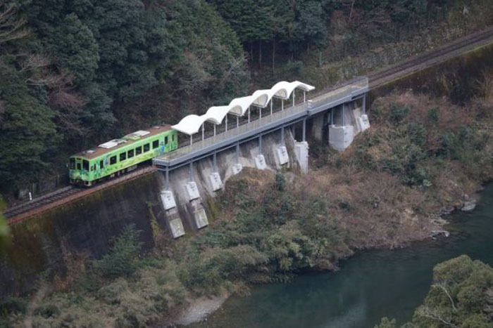 There's A Train Station In Japan Built Solely To Admire The Scenery And The Only Way To Access It Is By Train