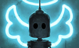 Lonely Robots Experiencing The Quiet Wonder Of The World (New Illustrations)