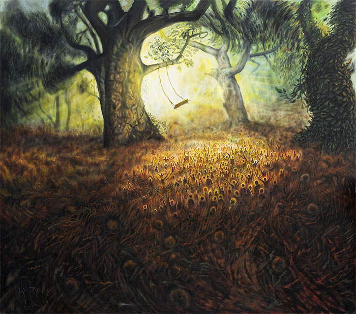 I'm A Painter From Serbia Who Specializes In Magical Realism