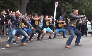 Biker Club Pays Respects To The Christchurch Victims By Performing An Emotional Haka Dance
