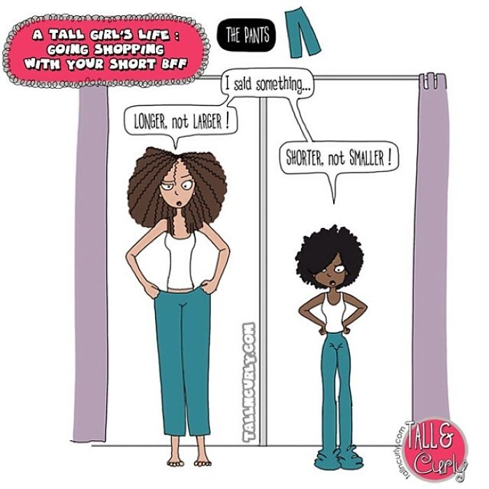 A Tall Girl's Life : Going Shopping With Your Short Bff