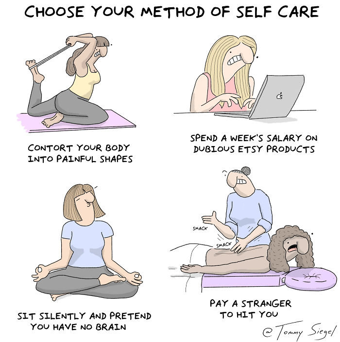 Choose Your Method Of Self Care