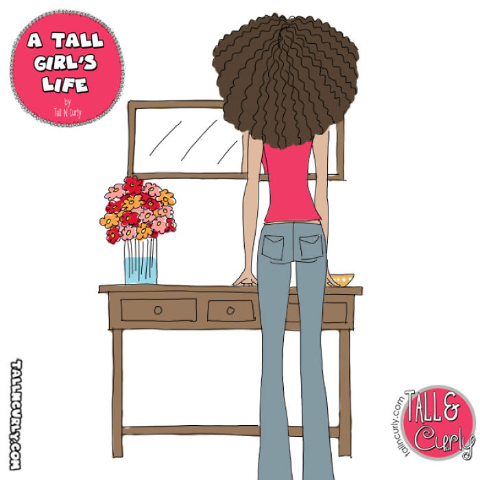 A Tall Girl's Life: Mirrors
