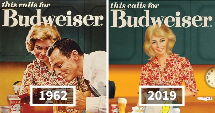 Budweiser Adapts Its Sexist Ads From The 50s And 60s To 2019 | Bored