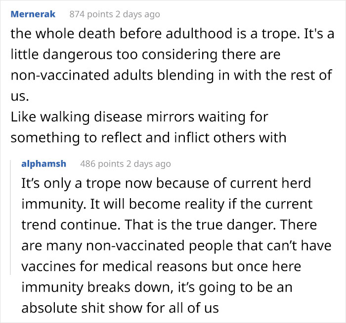 Anti-Vaxx Mom Asks How To Stop Her Son From Getting Vaccines When He Turns 18, Gets Shut Down In The Comments