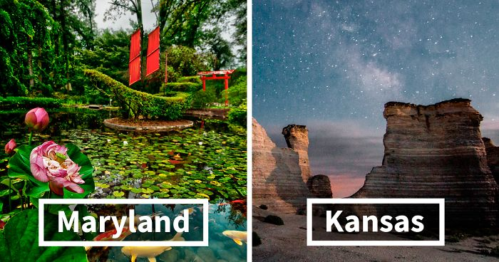50 Places You Should See In Each US State