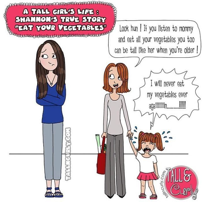 A Tall Girl's Life: True Story