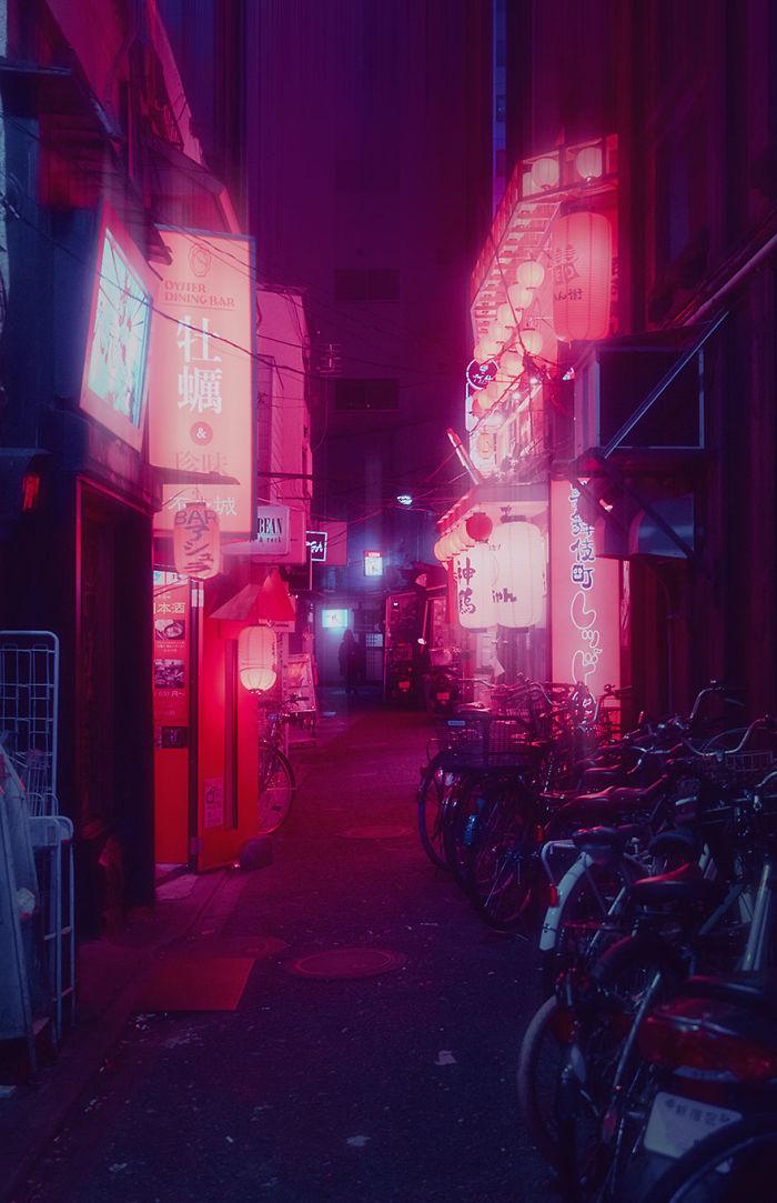 My 22 Surreal Photos Of Tokyo At Night