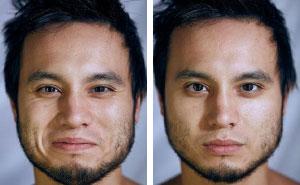 Este fotógrafo retrata a personas con y sin ropa, y pide a la audiencia que adivinen por sus caras en cuáles están desnudos