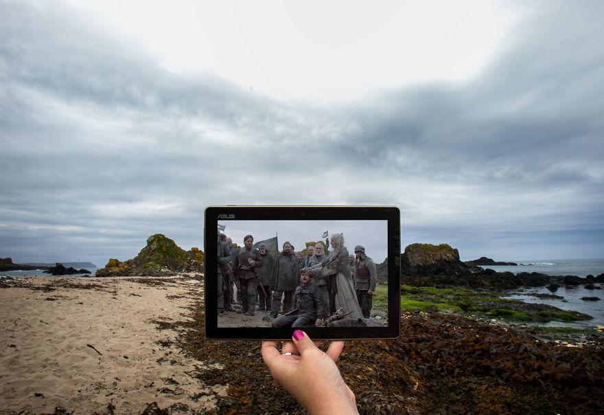 Euron Greyjoy At Ballintoy Harbour, Northern Ireland