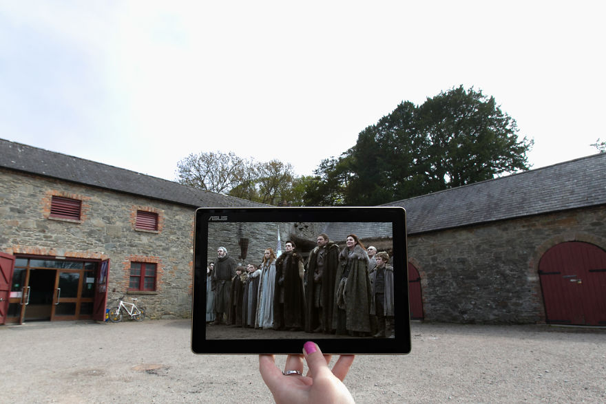 The Starks In Winterfell Aka Castle Ward In Northern Ireland