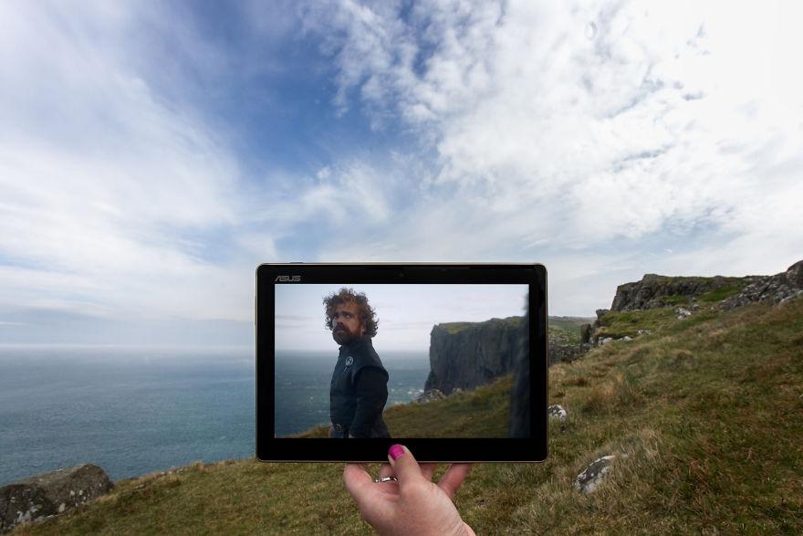 Tyrion Lannister At Fair Head, Northern Ireland